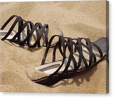 Sand Shoes I Canvas Print