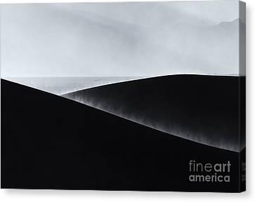 Sand Storm Aurora Canvas Print