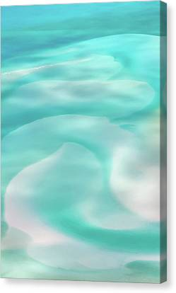 Sand Swirls Canvas Print by Az Jackson