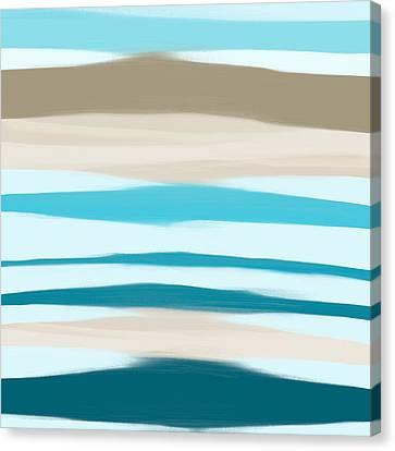 Sandbanks Canvas Print by Frank Tschakert