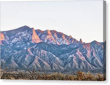 Sandia Gold Canvas Print by Mark David Gerson