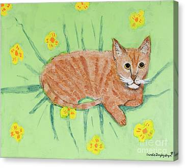 Sandie's Cat Canvas Print