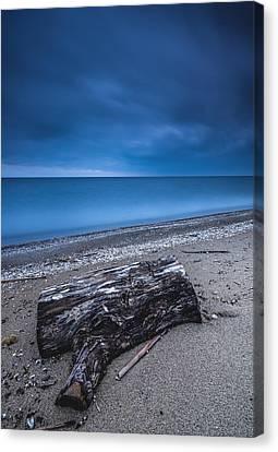 Sandpoint Beach Sunrise Canvas Print
