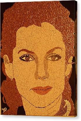 Sandra Bullock Canvas Print by Kovats Daniela