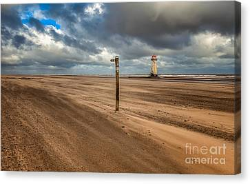 Sands Of Time Canvas Print by Adrian Evans