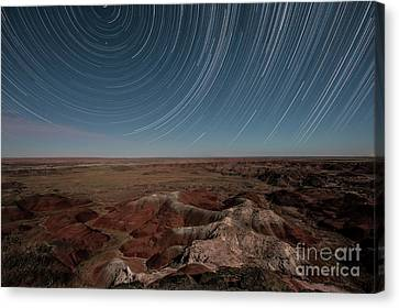 Sands Of Time Canvas Print by Melany Sarafis