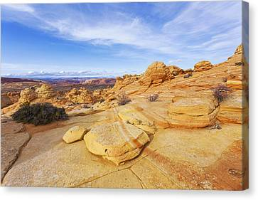 Sandstone Wonders Canvas Print by Chad Dutson