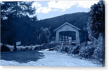 Sandy Creek Covered Bridge Canvas Print