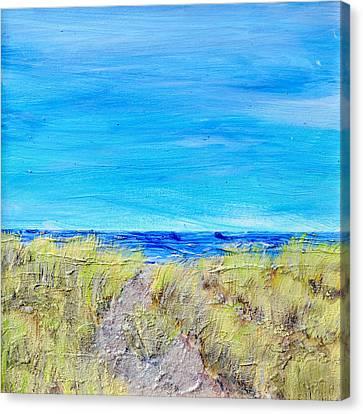 Sandy Dunes Canvas Print by Regina Valluzzi