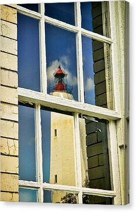 Sandy Hook Lighthouse Reflection Canvas Print