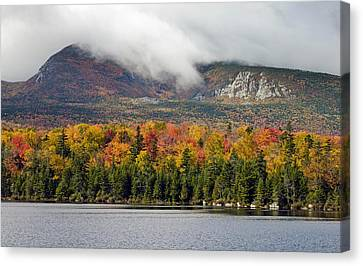 Sandy Stream Pond In Baxter State Park Maine Autumn Canvas Print by Brendan Reals