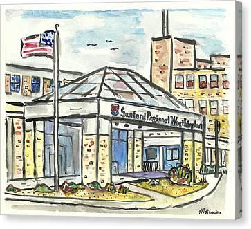 Sanford Regional Worthington Canvas Print by Matt Gaudian