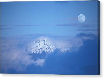 Sangay Volcano Ecuador Canvas Print by Panoramic Images