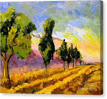 Artistic License Canvas Print - Sangre De Christo Range by Charlie Spear
