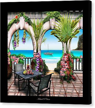 Sangria Beach Canvas Print