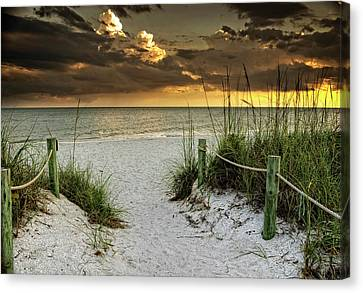 Sanibel Island Beach Access Canvas Print