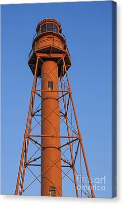 Sanibel Island Canvas Print - Sanibel Island Lighthouse by Edward Fielding