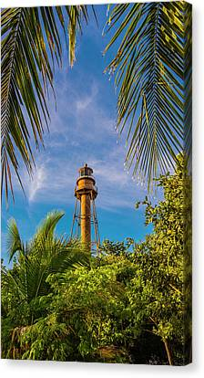 Sanibel Lighthouse Canvas Print by Steven Ainsworth