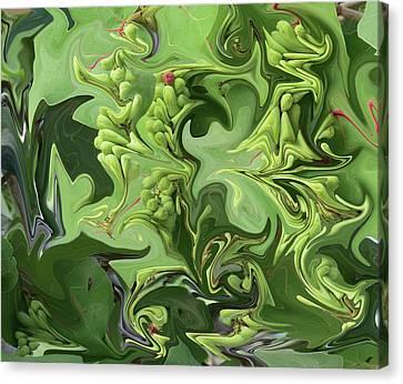 Sanibel Seagrapes Canvas Print
