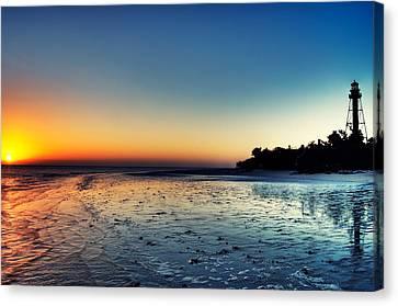 Sanibel Island Canvas Print - Sanibel Sunrise by Rich Leighton