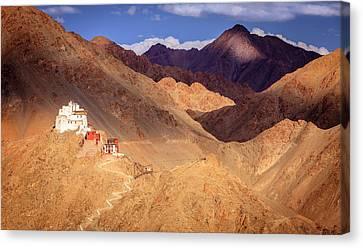Canvas Print featuring the photograph Sankar Monastery by Alexey Stiop