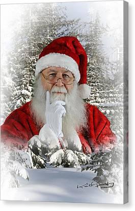 Santa 1 Canvas Print