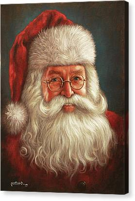 Santa 2017 Canvas Print