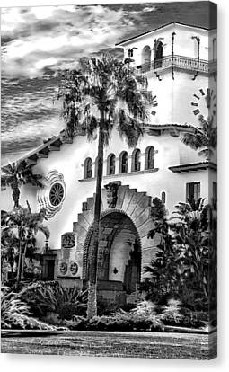 Santa Barbara City Hall Triptych_part2 Canvas Print