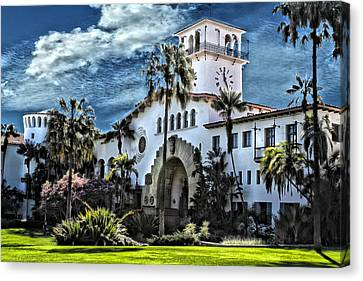 Santa Barbara Courthouse Canvas Print