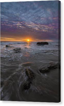 Santa Barbara Tides Canvas Print by Jeremy Jensen