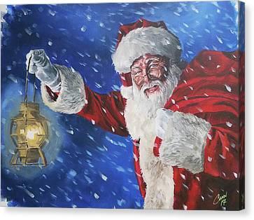 Santa Claus 2017 Canvas Print
