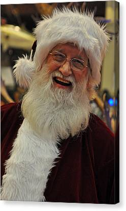 Santa Claus Canvas Print by Teresa Blanton
