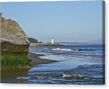 Santa Cruz Coastline - California Canvas Print by Brendan Reals