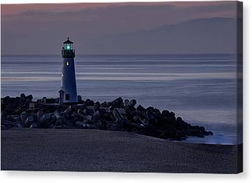 Walton Lighthouse Early Morning Canvas Print