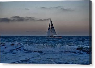Santa Cruz Sail Canvas Print