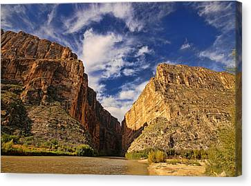 Santa Elena Canyon 3 Canvas Print