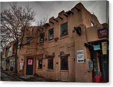 Canvas Print featuring the photograph Santa Fe 001 by Lance Vaughn