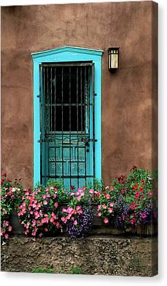 Santa Fe Door #1 Canvas Print