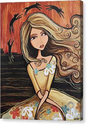 Santa Fe Dreams Canvas Print by Debbie Horton