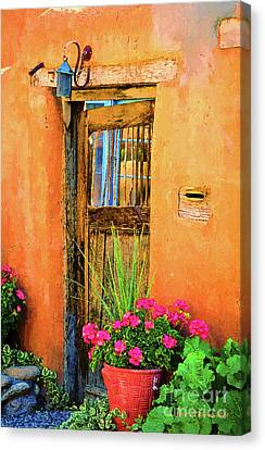 Santa Fe Canvas Print by Jerry L Barrett