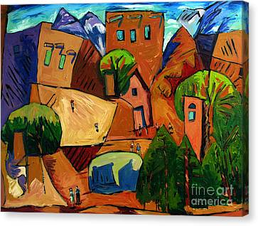 Santa Fe On My Mind Canvas Print by Charlie Spear
