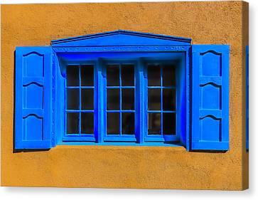 Santa Fe Canvas Print - Santa Fe Window by Garry Gay