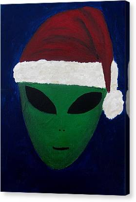 Santa Hat Canvas Print