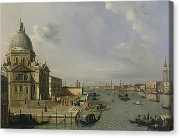Santa Maria Della Salute - Venice  Canvas Print by William James
