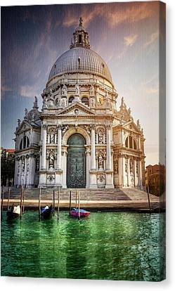 San Marco Canvas Print - Santa Maria Della Salute - Venice  by Carol Japp
