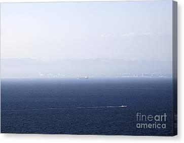 Santa Monica Canvas Print by Viktor Savchenko