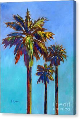 Santa Rita Palm I Canvas Print