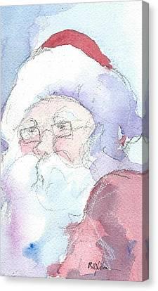 Santa  Canvas Print by Robert Yonke
