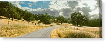 Santa Rosa Creek Road Passing Canvas Print