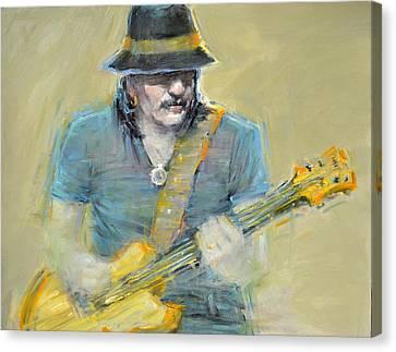 Grammy Winners Canvas Print - Santana by September McGee